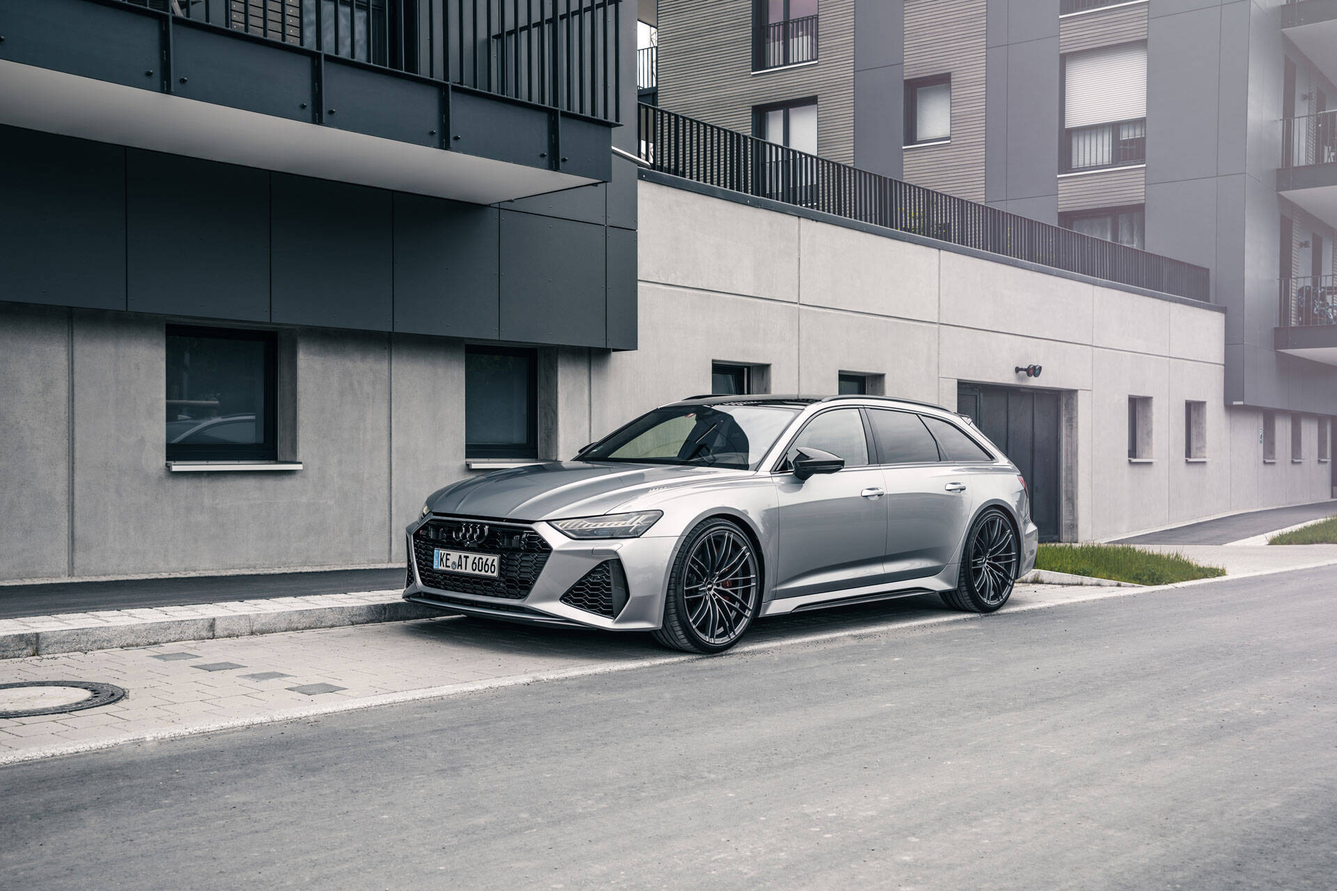 2021 Audi RS6 - ABT exhaust system, power upgrade and ...