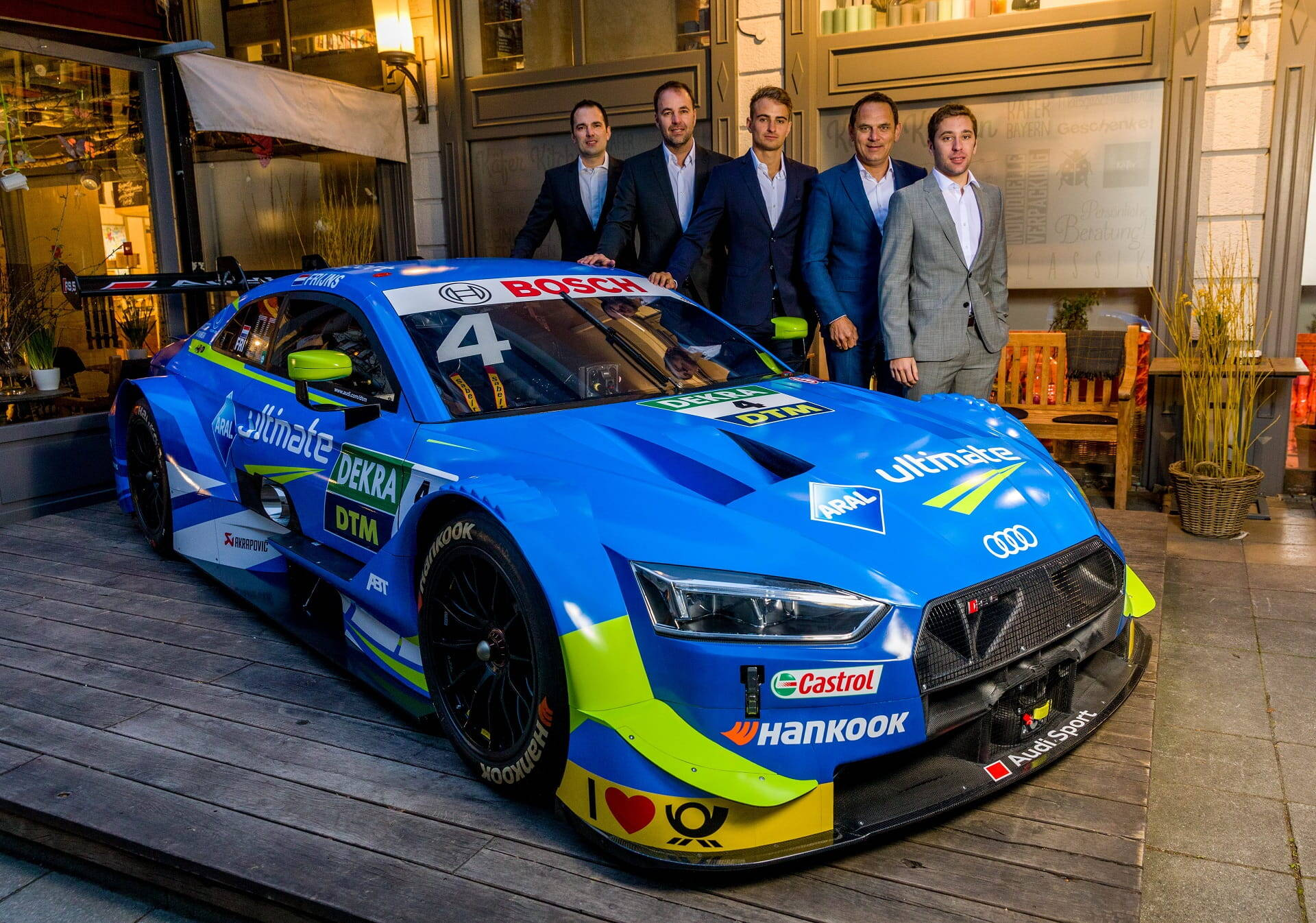 Mit Turbo-Power in die Saison 2019 - das neue DTM-Fahrzeug ...